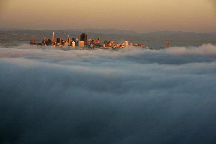 Вечерний Сан-Франциско