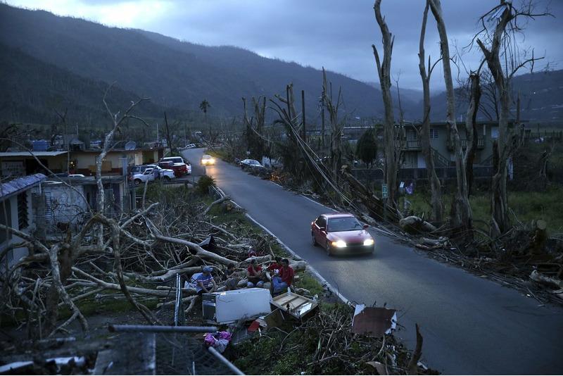 Последствие урагана «Мария» в Пуэрто-Рико