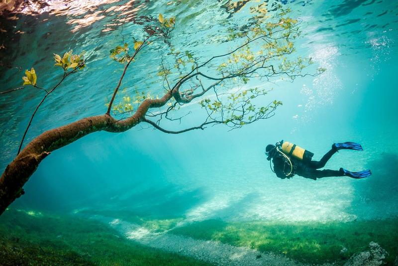 Зелёное озеро (Грюнер Зее)