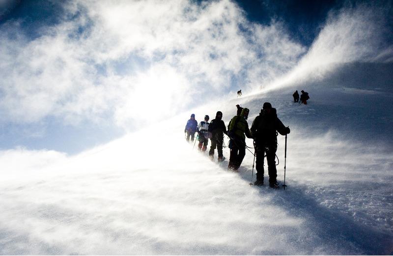 Гора Мон Блан.