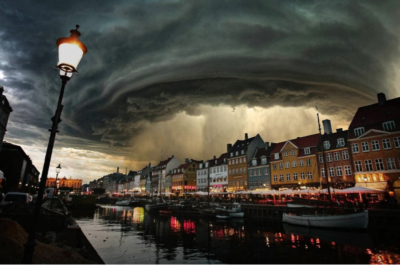 Открытие небес. Копенгаген, Дания.
