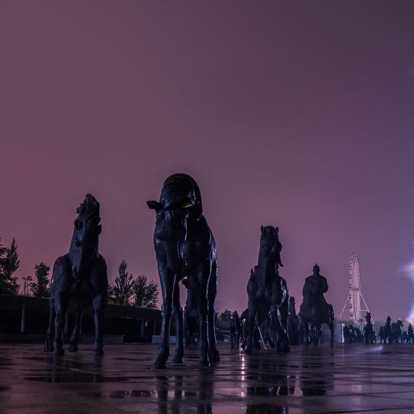 Город-призрак Канбаши, Китай