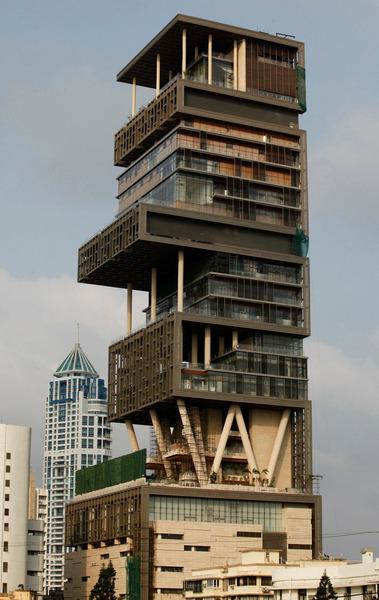 Antilia небоскреб в Мумбаи