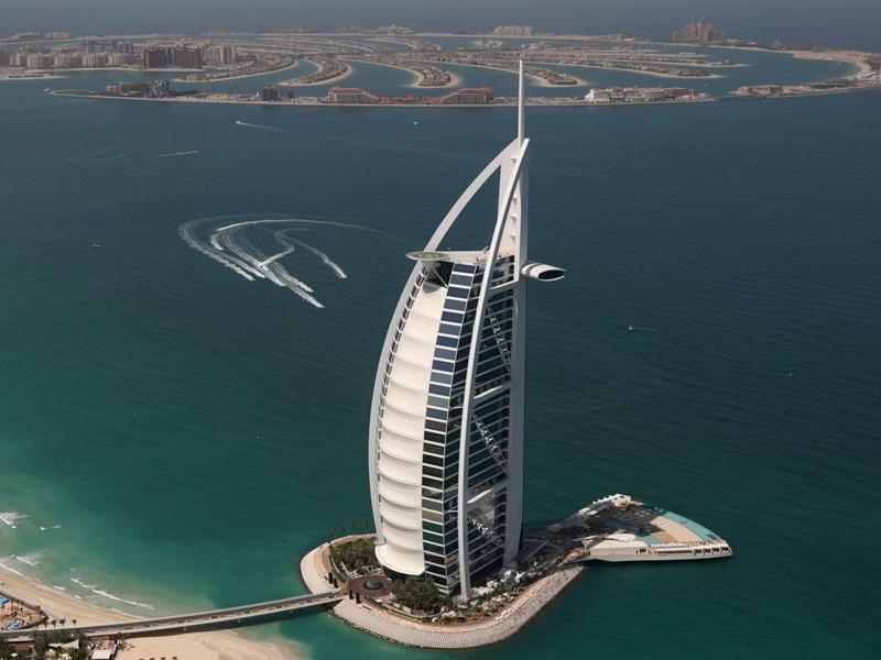 Burj Al Arab в Дубае