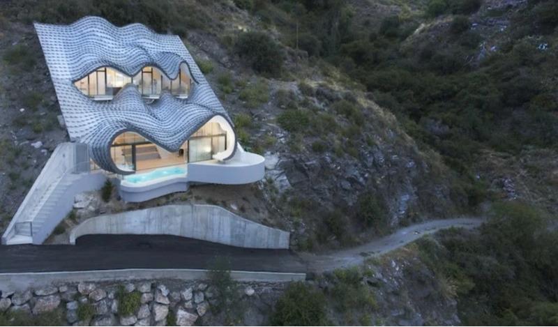 Дом на скале, Испания