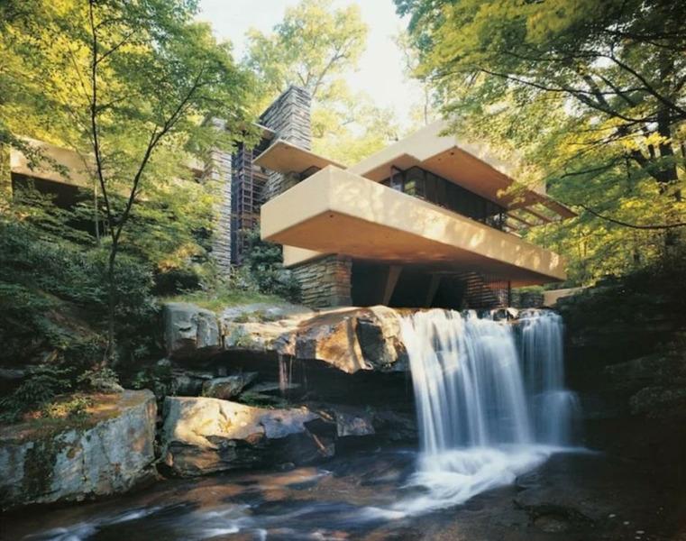 Дом над водопадом, Пенсильвания