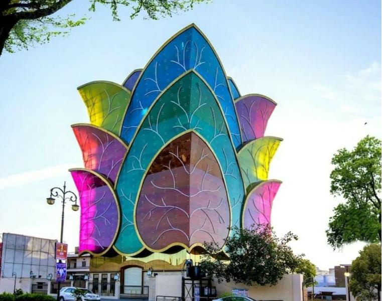 Красочный дом, Индия