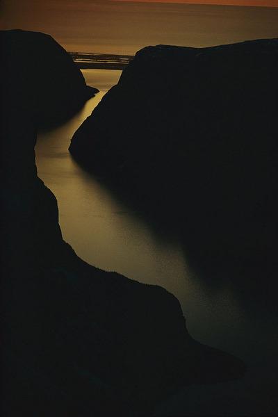 Река Святого Лаврентия. Канада, 1974