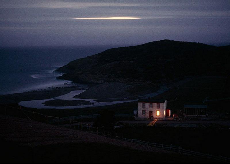 Дом рыбака-отшельника в тихой гавани Плацентия в городе Ньюфаундленд. Канада, 1974