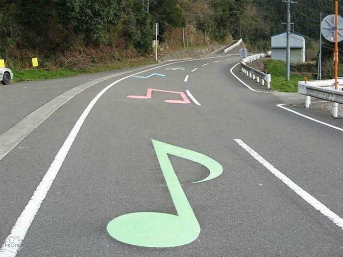 Музыкальная дорога в США