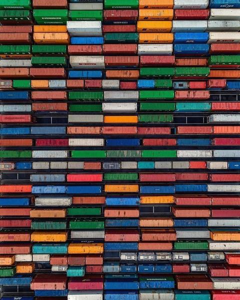 Тетрис из грузовых контейнеров