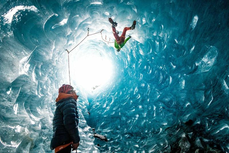 Ледник во французских Альпах