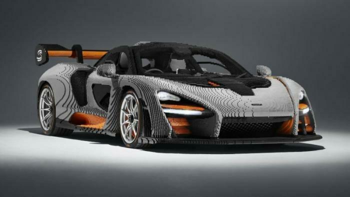 McLaren Senna из Lego