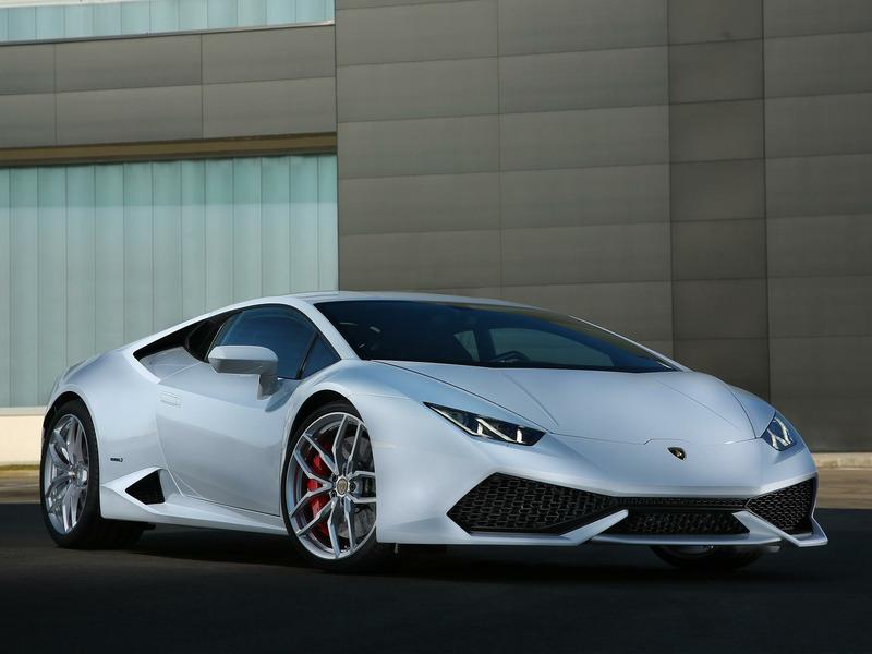 Lamborghini Huracán LP 610-4 2014 года