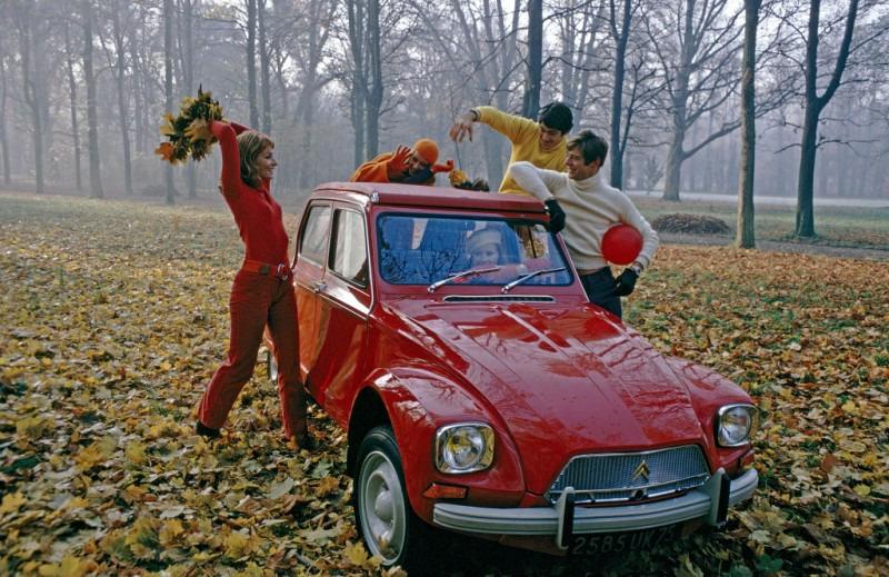 легковой автомобиль Citroen Dyane