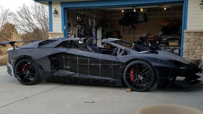 Физик из США сделал реплику Lamborghini