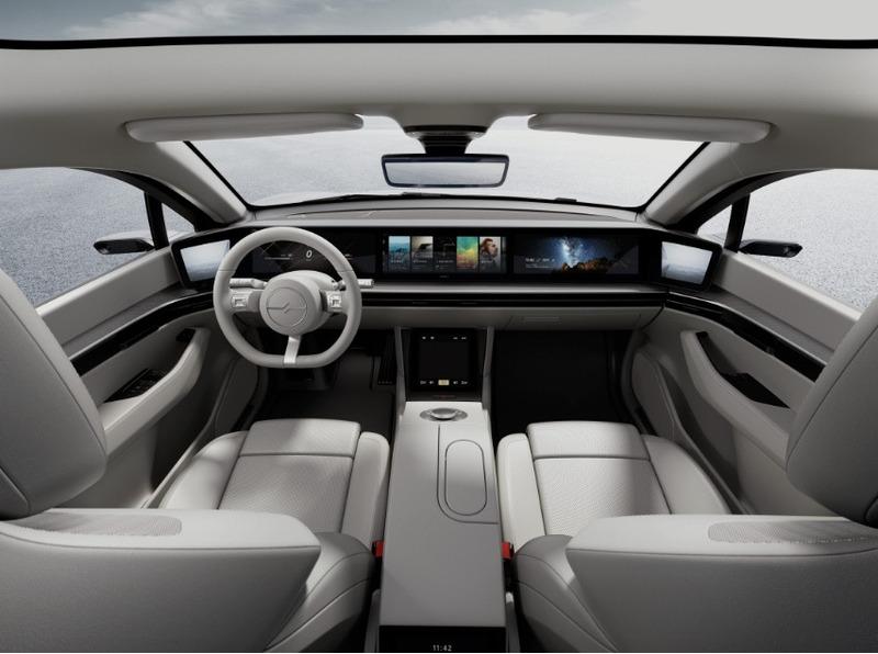 электромобиль Vision-S