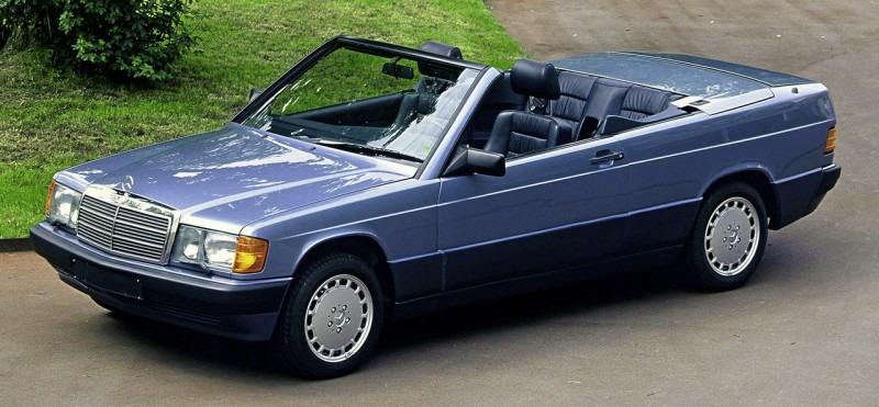 Кабриолет Mercedes-Benz 190