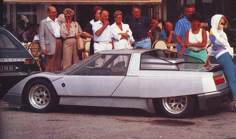Спортивный автомобиль Lola Ultimo GT