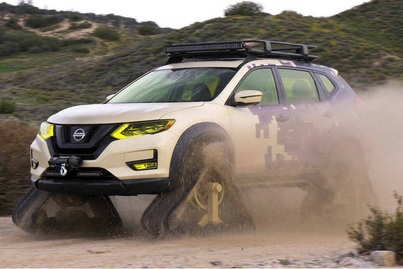 Nissan Rogue Warrior Project