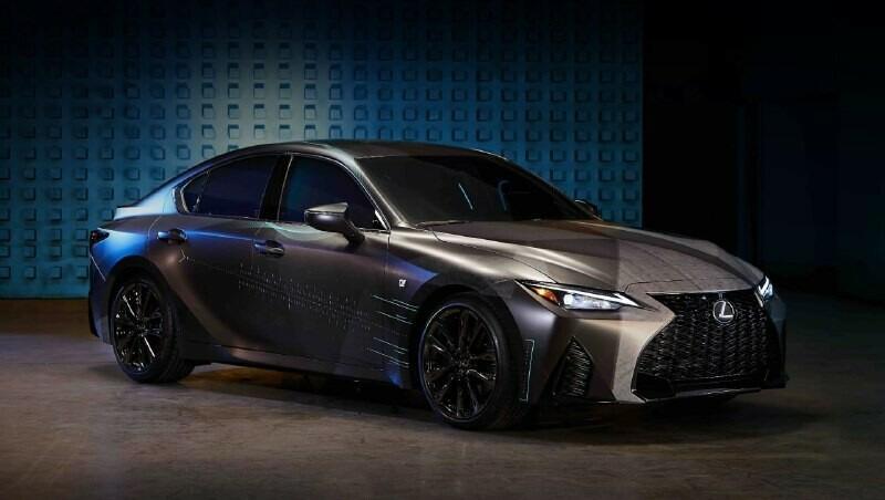 геймерский автомобиль Lexus