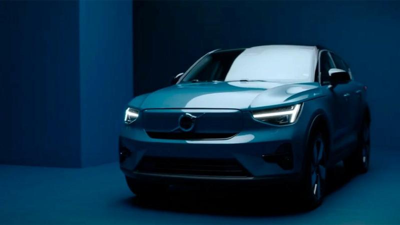 электрокар Volvo C40 Recharge