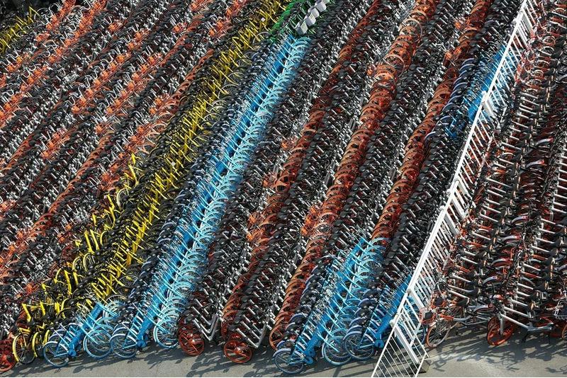 Кладбища велосипедов