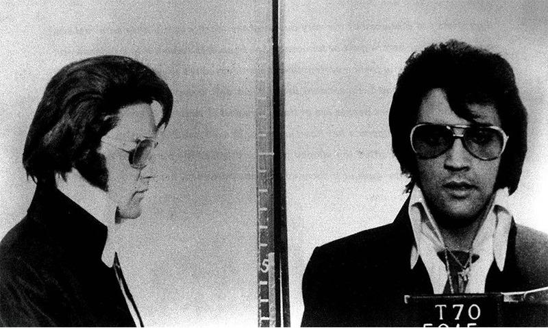 Элвис Пресли (Elvis Presley) - середина 1950-х (превышение скорости)