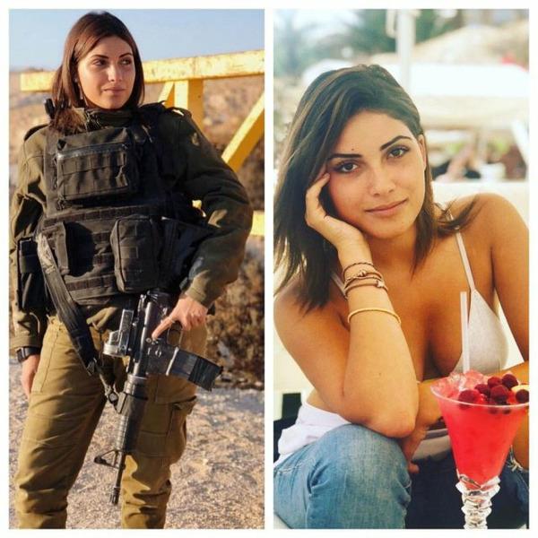 Девушки из израильской армии