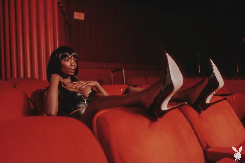 Chasity Samone фотосессия Playboy