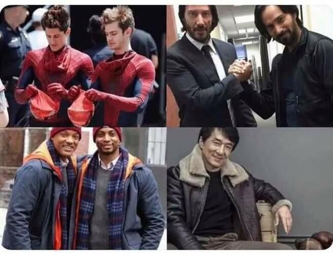 Актёры и их каскадёры