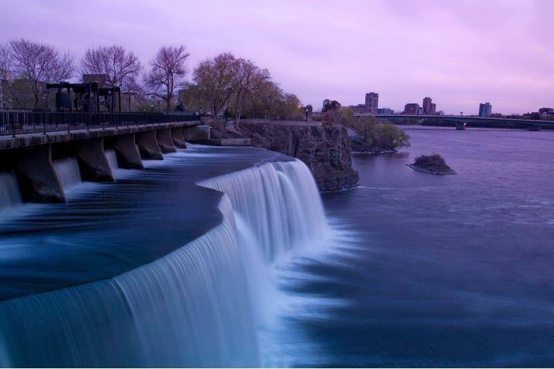 Водопады Ридо