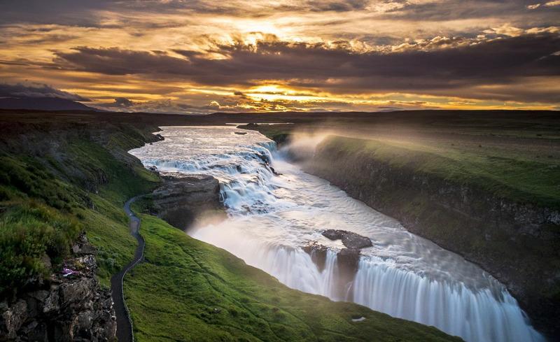Водопад Гюдльфосс