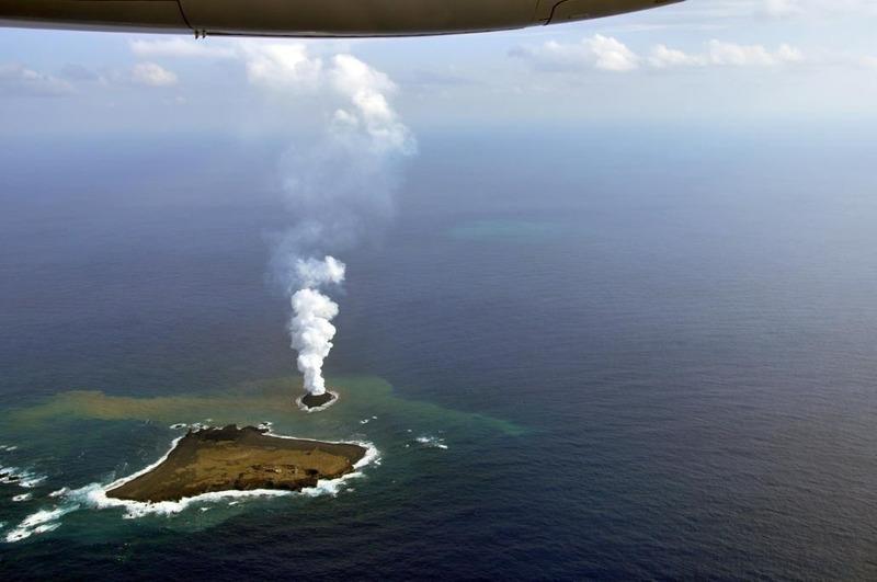 Рождение нового острова в Японии