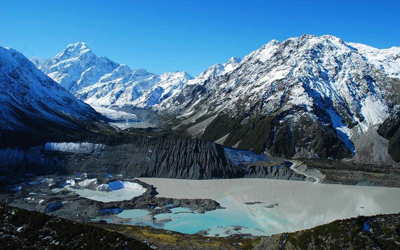 Гора Кука или Аораки - Новая Зеландия