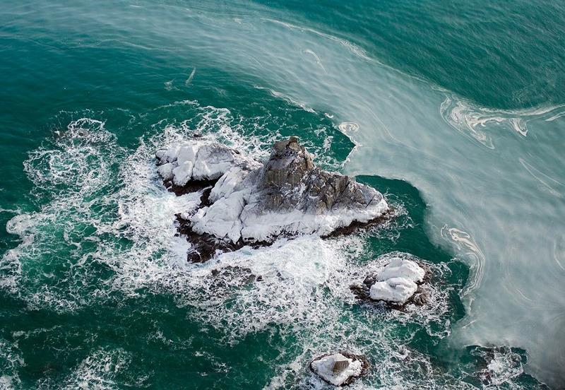 Зеленые пучины океанских вод