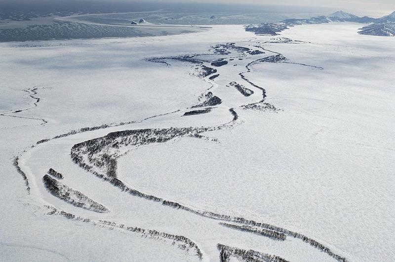 Низовья реки Жупановой