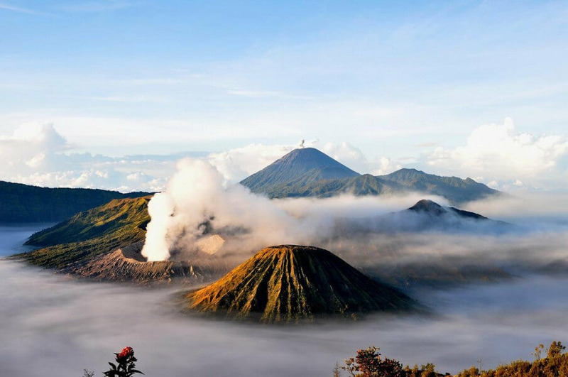 Вулкан Бромо (Gunung Bromo)