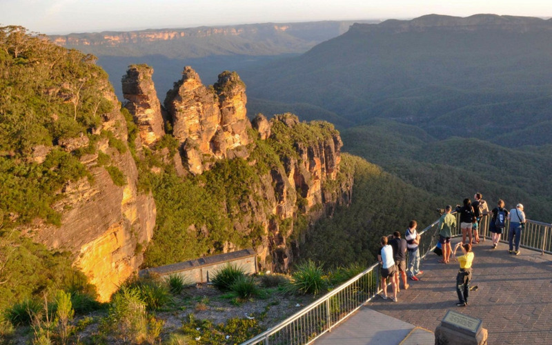 Скалы Три Сестры (Австралия)
