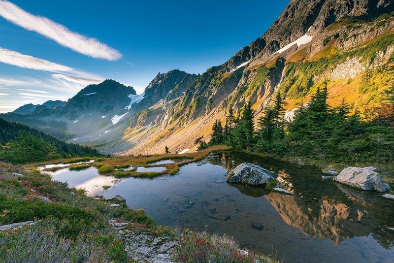 Национальный парк Норт-Каскейдс (North Cascades National Park - Северные каскады)
