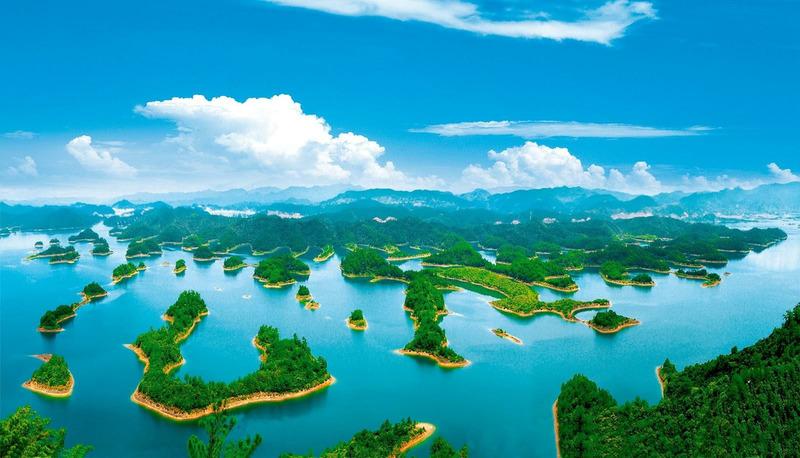 Цяньдаоху или Озеро тысячи островов