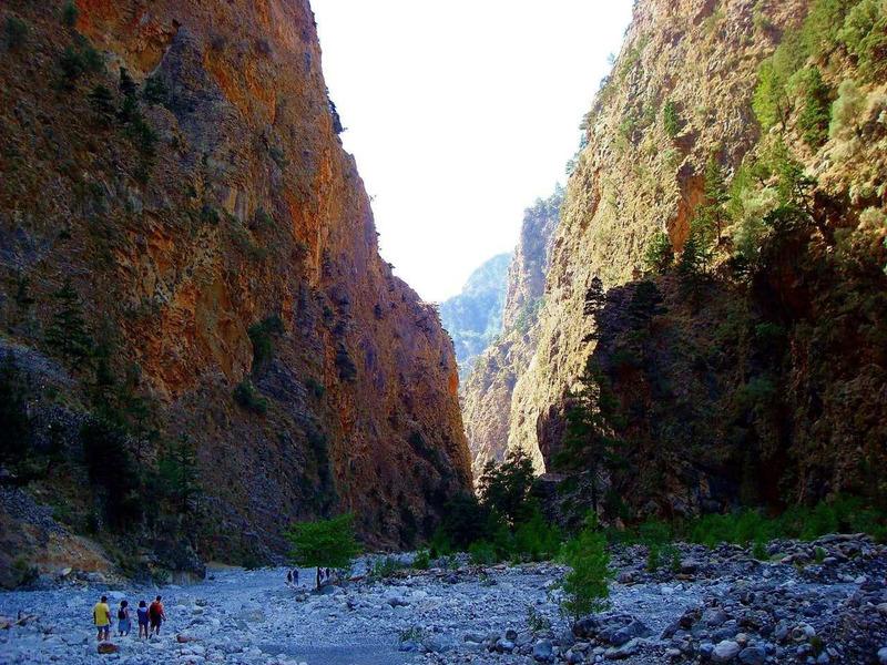 Самарийское ущелье или Национальный парк Самария