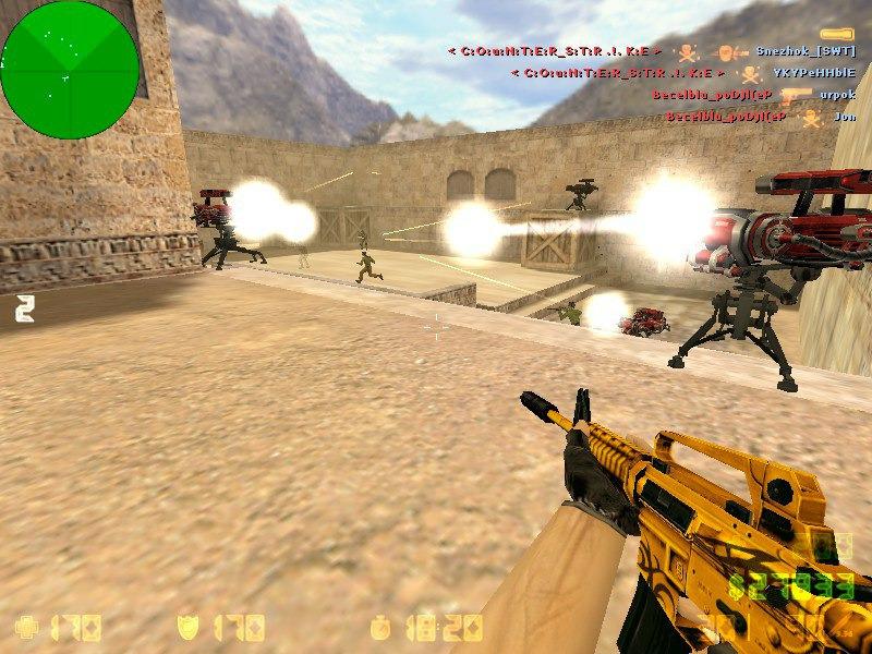Легендарный CSDM сервер Counter Strike 1.6.