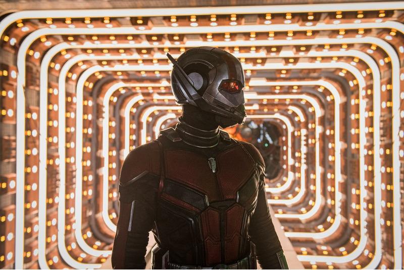 Человек-муравей и Оса (2018)