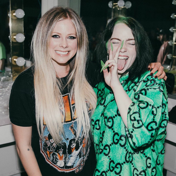 Avril Lavigne с Billie Eilish