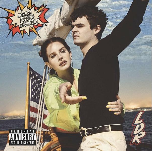 Lana Del Rey альбом Norman Fucking Rockwell
