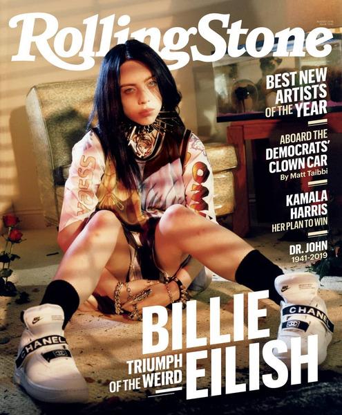 Billie Eilish для журнала Rolling Stone