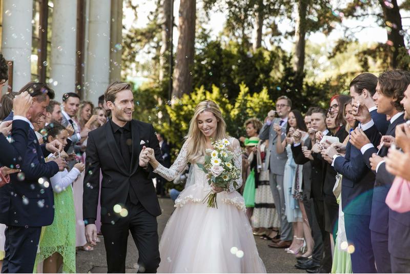 Самый популярный блогер в мире PewDiePie женился