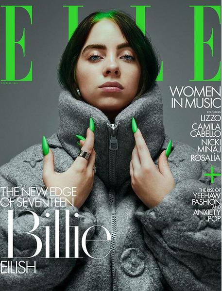 Billie Eilish в фотосессии для журнала ELLE