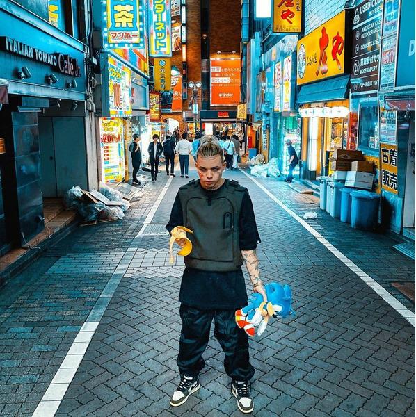 Элджей в Японии